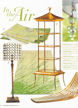 Homes & Gardens July 2006