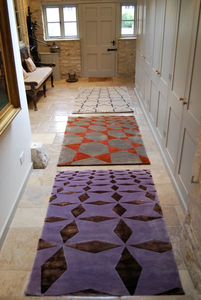 bespoke floor rugs staged