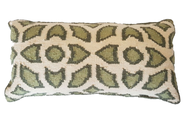 Flowers Green Cushion