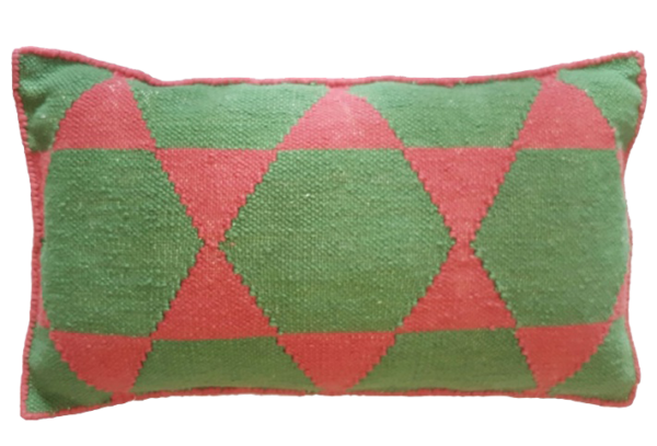 Stars Green Cushion