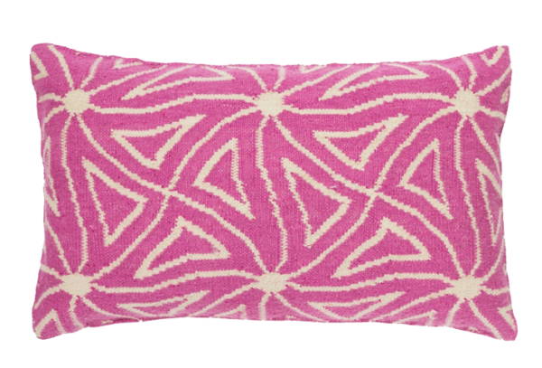 Swirls Pink Cushion