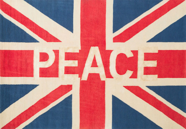 great britain peace rug