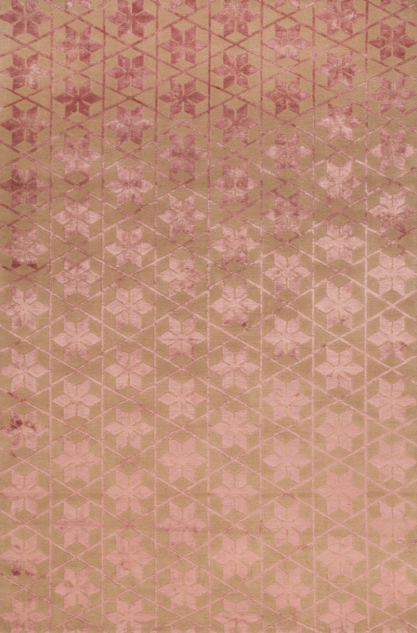 Flowers Triangles Rug