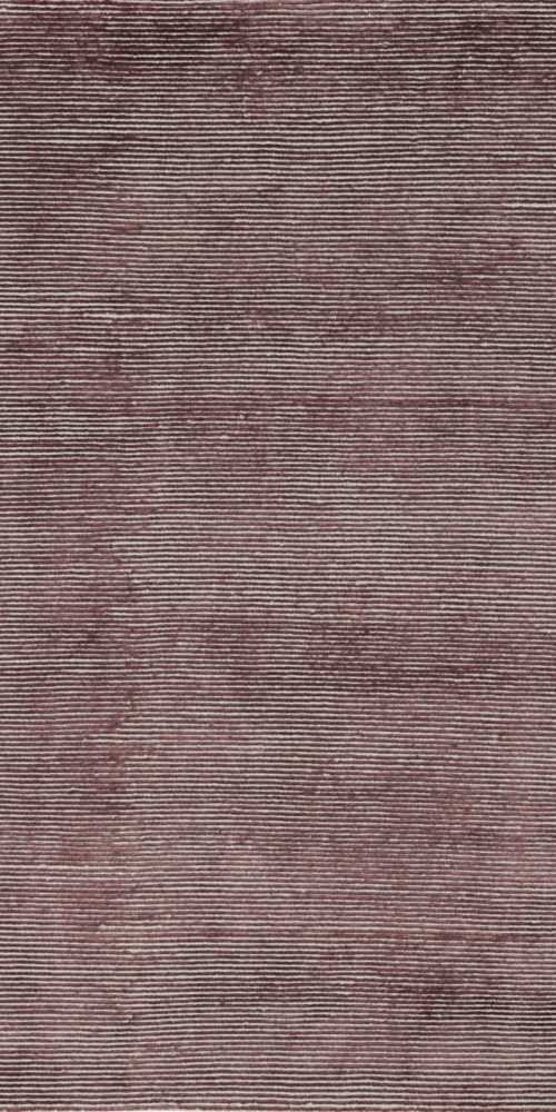 Mauve & Grey Single Loop & Cut Pile Rug