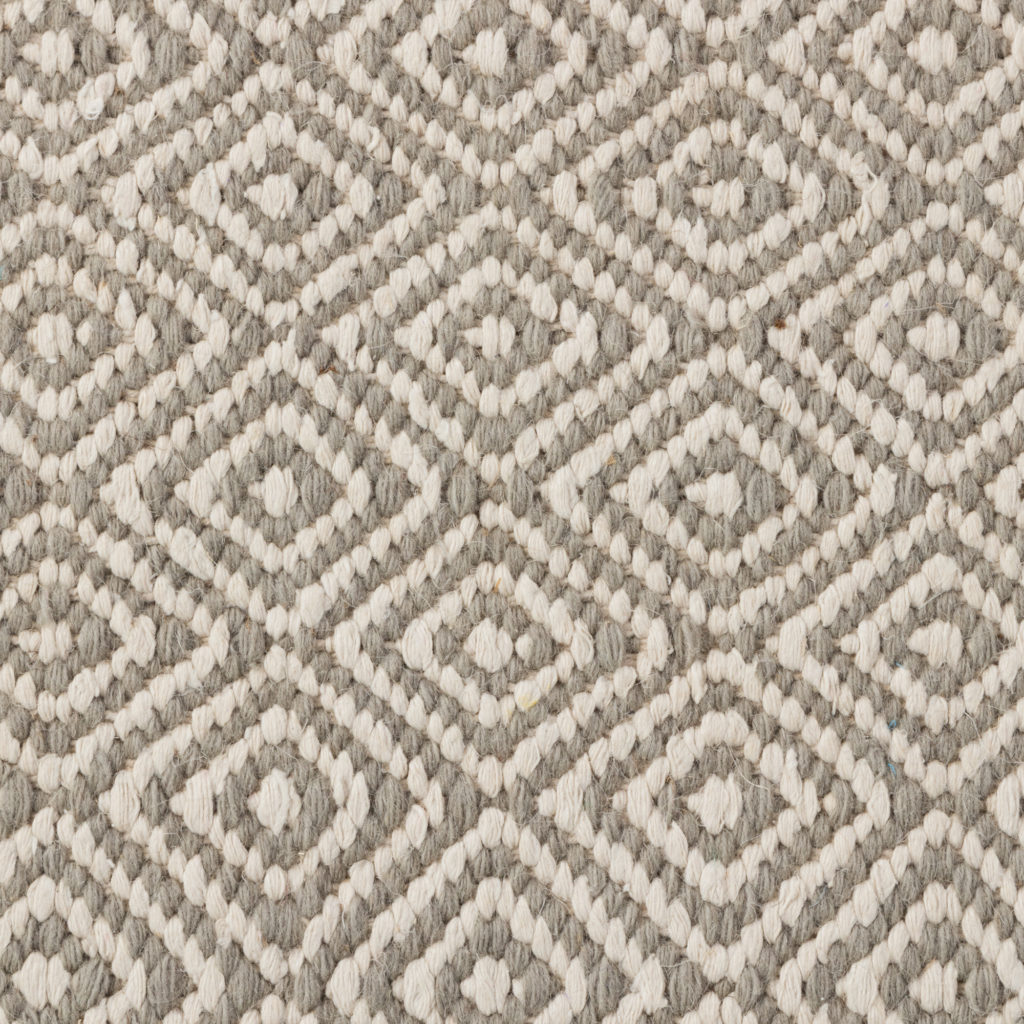 Diamonds Grey 2 Rug
