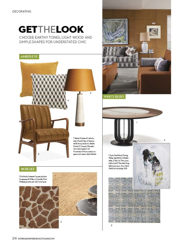 Homes & Interiors Scotland Nov 19